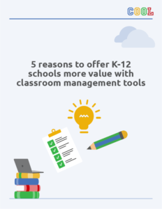PDF 5 reasons to expand your portfolio with classroom management tools for K-12 schools